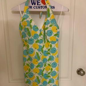 Lilly Pulitzer dress citrus print